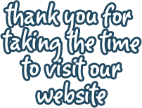 Thank you for taking the time to visit our website